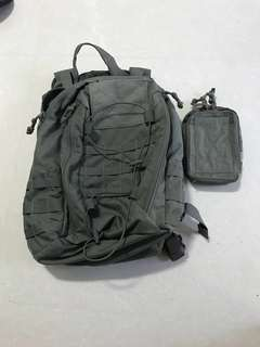 Ranger green MSM adapt pack EDC and pouch