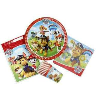 Paw patrol red party pack