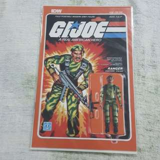 COMICS... NOT FIGURE... Legit Brand New Sealed GIJOE Ranger Stalker Toy Figure Print Cover Magazine