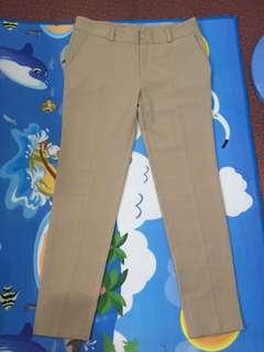 Plus size Beige slacks
