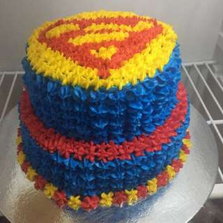 Superman cake(moist chocolate cake)