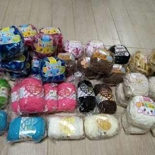 Knitting wool set of 44pcs (Daiso yarn)