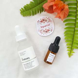 [SHARE in bottle 5ml/10ml] The ordinary Niacinamide 10% + Zinc 1%