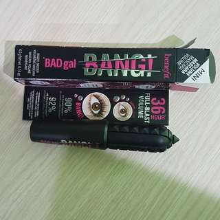 Benefit BadGal BANG! Mini Mascara