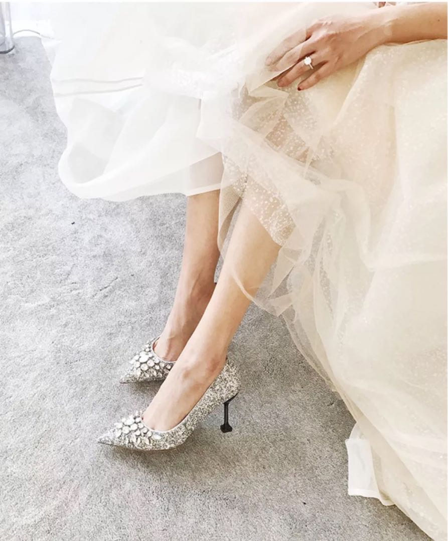 Jimmy Choo S Best Wedding Shoes 20 Bridal Heels And Party Flats