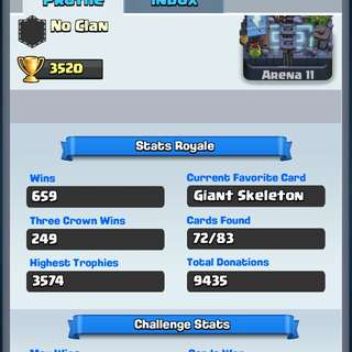 Lvl 10 Clash Royale Account