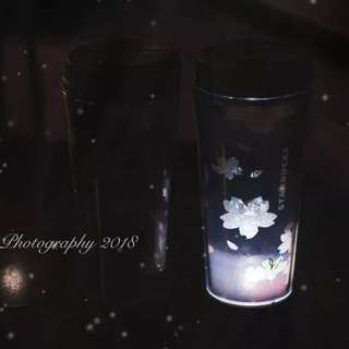 Starbucks Sakura LED limited edition tumbler