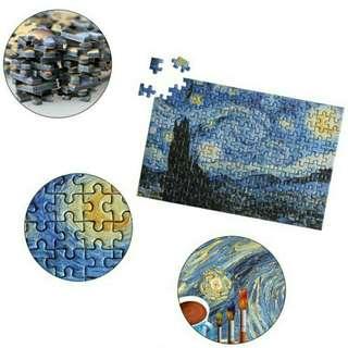 Van Gogh's Paintings in 150pcs Jigsaw Puzzle