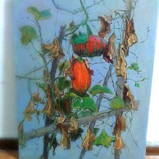 Antique Acrylic Painting(Negotiable)