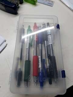 Pilot Pencil Case With Pens