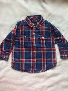 Tommy Hilfiger Checkered Long Sleeves