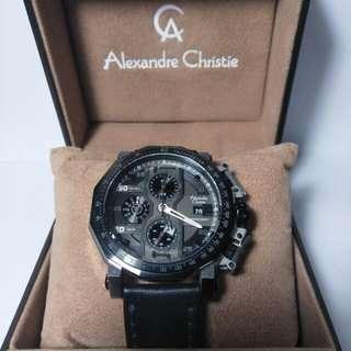 Dijual cepat jam Alexandre Christie.