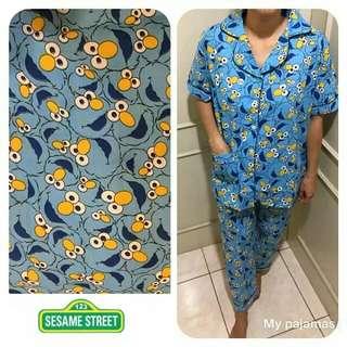 GROSIR Pajamas Katun Jepang CP Elmo