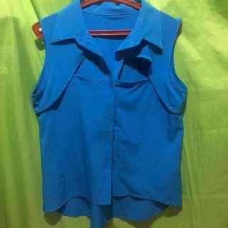 Sexy sleeveless shirt
