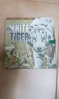White Tiger Papercraft