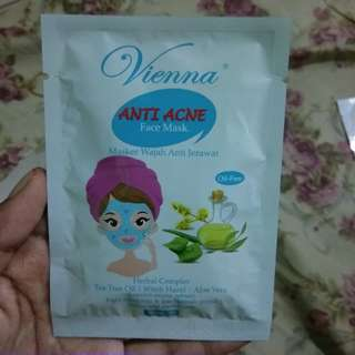 Vienna anti acne face mask