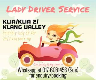 Lady Driver Service