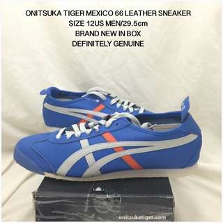 GENUINE ONITSUKA TIGER MEXICO 66 LEATHER SHOES