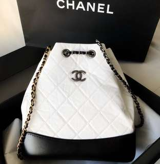 Chanel garibelle backpack small size