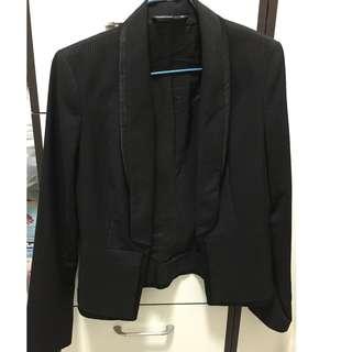 coat - line on black from wanko