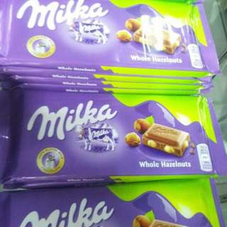 Milka whole hazelnut