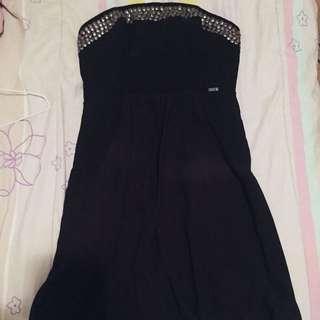 Guess strapless dress