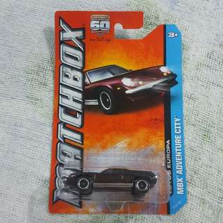 Legit Brand New Sealed Matchbox Lotus Europa MBX Adventure City Car Toy Figure