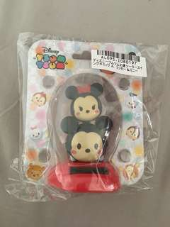 Mickey & Minnie Mouse solar swing