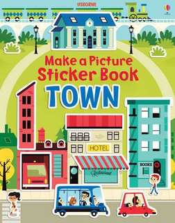 🚚 [FREE MAIL]BN Usborne Build a Picture TOWN