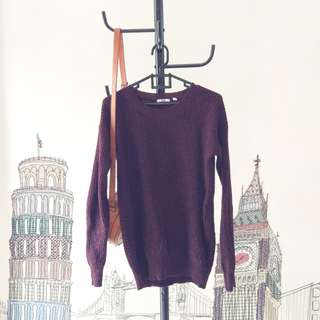 Uniqlo Maroon Sweater