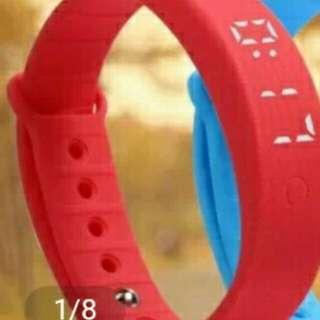 W5S Sport Bracelet (Gelang Olahraga Tahan Air) Warna Orange
