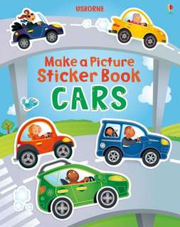 [FREE MAIL]BN Usborne Build a Picture CARS
