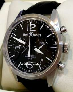 Used Bell & Ross BR126-94 Chrono Auto 41mm (With Box)