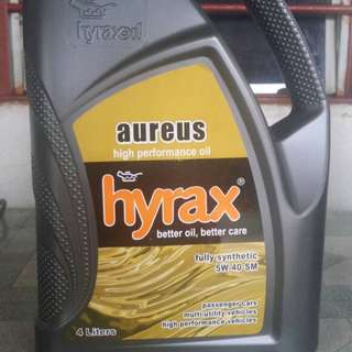 Engine oil brand Hyrax(fully )