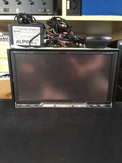 Alpine IXA-W407EBT c/w USB & Bluetooth