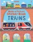 [FREE MAIL]BN Usborne Build a Picture TRAINS