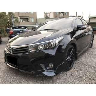 2014 豐田 ALTIS Z版 黑 車美 少跑~