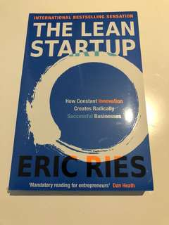 Lean Startup by Eric Ries - Brand New and Sealed