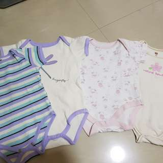 4 Baby Rompers