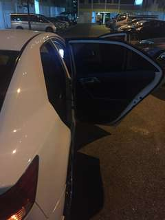 Kia Forte and K3 magnetic sunshades