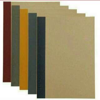 Muji A5 single lined Notebooks