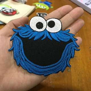 Sesame Street Cookie Monster Patch