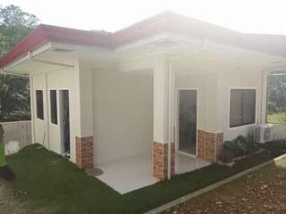 Fully-furnished house and lot