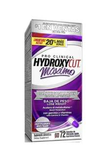 🔥NEW Hydroxycut Maximo 72 caps