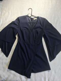 Long sleeve playsuit