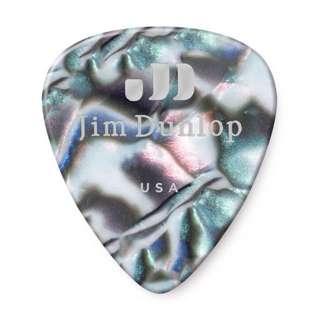 Jim Dunlop Celluloid Abalone 483 Guitar Picks Plectrums