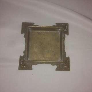 🚚 早期銅鑄四方銅台
