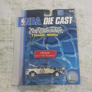 Legit Brand New Sealed NBA Die Cast ERTL Collectibles Classic Rides Indiana Pacers Car Toy Figure 1:64 Ford F150 Slammed