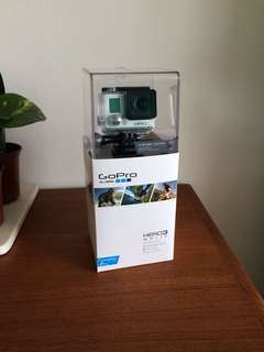 Go Pro Hero 3 in White (Never Opened!)