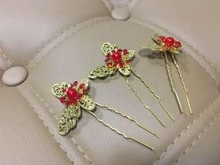 新娘中式髮飾 褂